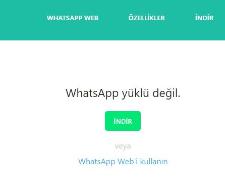 WhatsApptan Rehberde kayıtlı olmayan bir numaraya Mesaj gönderme