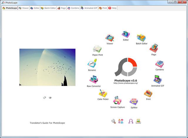 Photoscape Ekran Görüntüsü