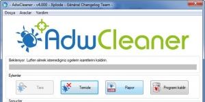 AdwCleaner Ekran Görüntüsü