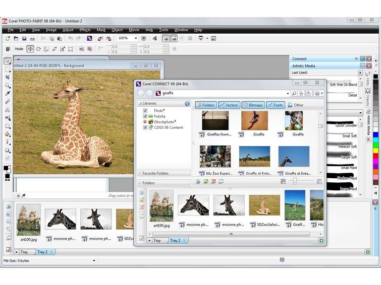 CorelDRAW Graphics Suite Ekran Görüntüsü