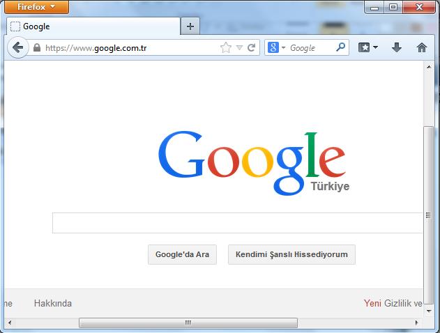 Firefox Ekran Görüntüsü