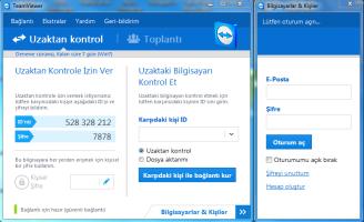 TeamViewer Ekran Görüntüsü