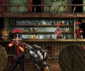 Nişancı kovboy oyunu